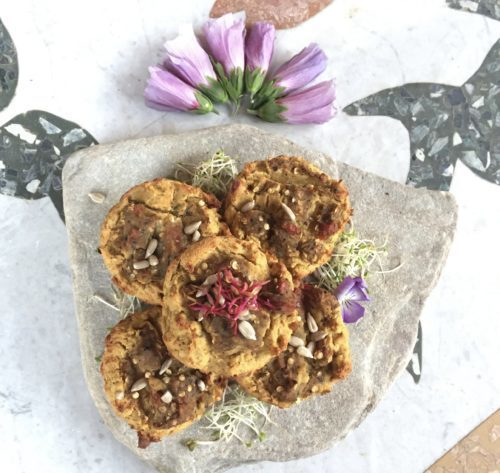 Muffin di Baba Ganoush