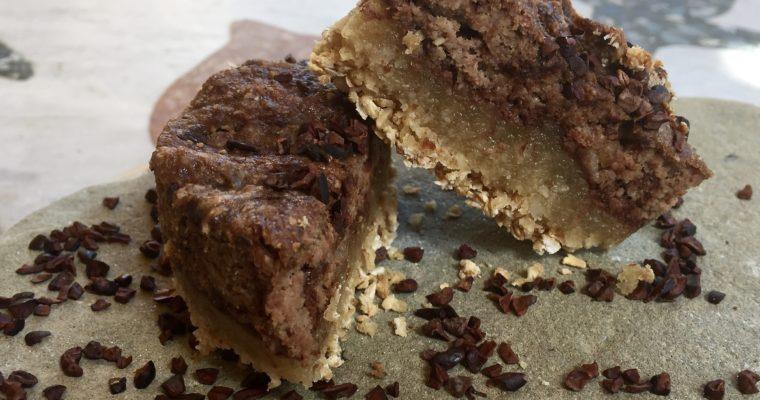 La Colazione Vegan Golosa: Biscotto triplo strato alle Mandorle e Cioccolato