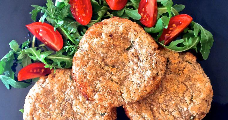 Burger di Tapioca e Patate al forno