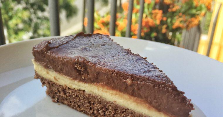 Torta Fredda Moka Vaniglia e Cioccolato – Ricetta Vegan Senza Cottura