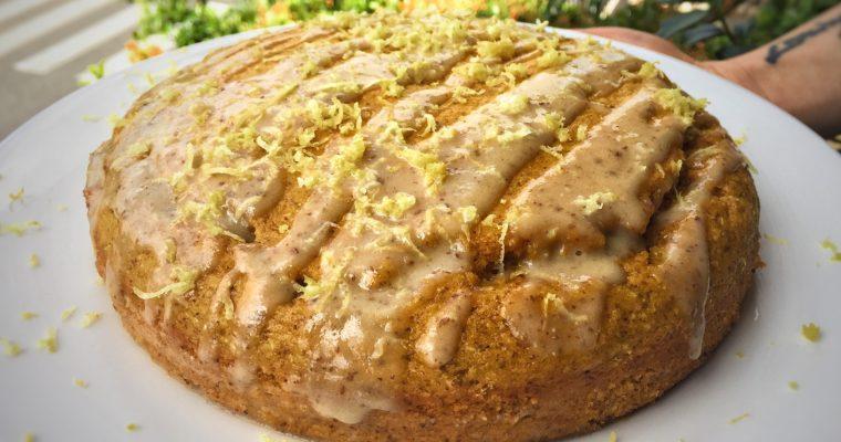Torta di Carote Curcuma e Cannella – Vegan senza zucchero e senza grassi aggiunti